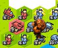 Explosion mocukup